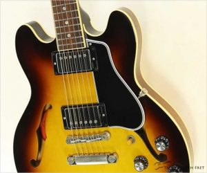 ❌SOLD❌ Gibson ES339 Thinline Vintage Sunburst, 2011