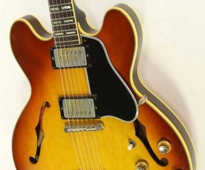 Gibson ES345 TD Thinline Archtop Electric Sunburst, 1966 - The Twelfth Fret