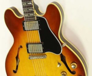 ❌SOLD❌ Gibson ES345 TD Thinline Archtop Electric Sunburst, 1966