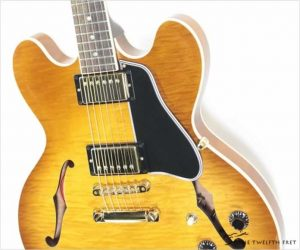 ⚌Reduced‼  Gibson ESDT335 Thinline Archtop Lightburst, 2004