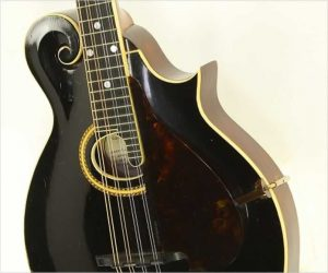 ❌SOLD❌  Gibson F2 Mandolin Black, 1911