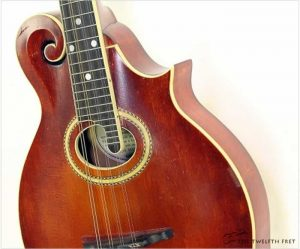 Gibson F2 Oval Hole Mandolin Sunburst, 1915 - The Twelfth Fret