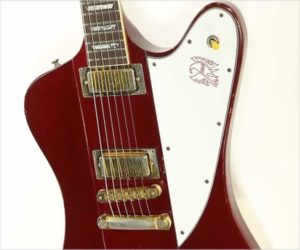 ❌SOLD❌ Gibson Firebird V Through-Neck Electric Red, 1981