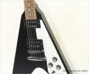 Gibson Flying V 2017 T Ebony NOS - The Twelfth Fret