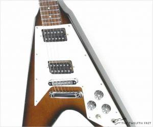 ❌SOLD❌ Gibson Flying V 67 Reissue Tobacco Burst, 1990