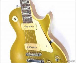 Gibson GoldTop Les Paul P90s, 1968 - The Twelfth Fret