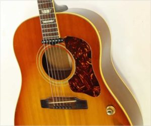 Sold!  Gibson J-160E Steel String Acoustic Electric Sunburst, 1966