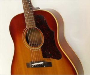 Gibson J-45 Slope Shoulder Dreadnought Guitar Sunburst, 1962
