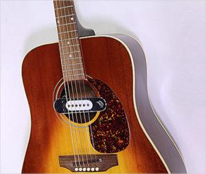 Gibson J-45 Steel String Sunburst with deArmond Pickup, 1970 - the Twelfth Fret