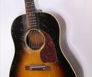 SOLD!!! Gibson J-45 Sunburst Steel String Guitar, 1952