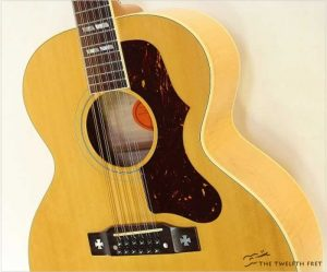 Gibson J185 12 String Guitar Maple Natural, 2001 - The Twelfth Fret