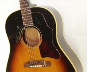 ❌SOLD❌  Gibson J45 ADJ Slope Shoulder Acoustic Sunburst, 1966