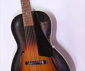 SOLD!!! Gibson L-37 Flat Back Archtop Guitar Sunburst, 1938