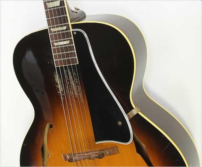 Gibson L-50 Archtop Guitar Sunburst, 1950 - The Twelfth Fret