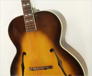 Gibson L-7 Archtop Acoustic Guitar Sunburst Refinish, 1947 - The Twelfth Fret
