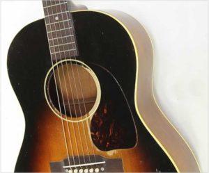 Gibson LG-1 Ladder Braced Steel String Guitar Sunburst, 1953 - The Twelfth Fret