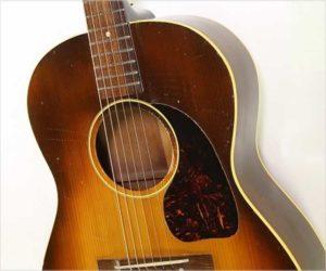 Gibson LG-2 Steel String Guitar Sunburst, 1946