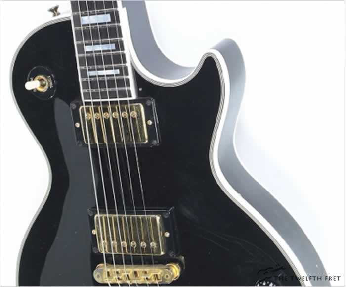 Gibson Les Paul Custom Gloss Black, 2002 - The Twelfth Fret