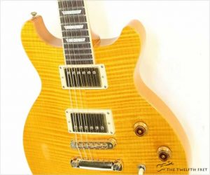 ❌SOLD❌ Gibson Les Paul DC Standard Amber, 2005