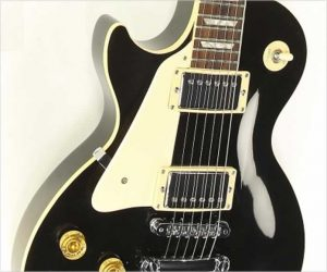 Gibson Les Paul Standard Left Handed Black, 1986