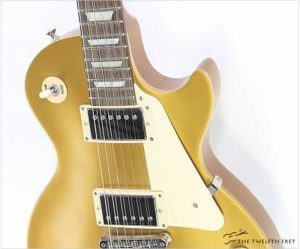 Gibson Les Paul Tribute Gold Top, 2018 - The Twelfth Fret