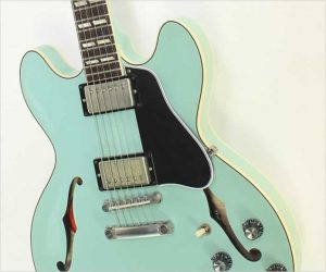 ❌SOLD❌Gibson Memphis ES345 64 Reissue Sea Foam Green, 2016