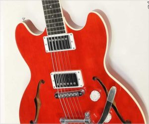 Reduced!  Gibson Midtown Standard Thinline Electric Red, 2011