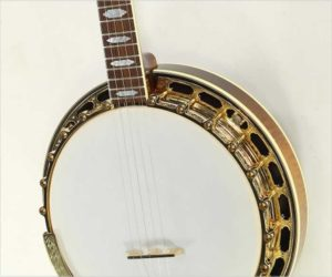 Gibson RB-18 Mastertone Top Tension 5-String Banjo Sunburst, 1996