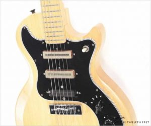 Gibson S1 Solidbody Maple Natural, 1978