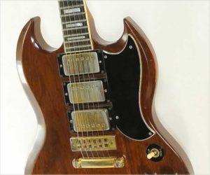 SOLD!  Gibson SG Custom Natural Mahogany, 1974