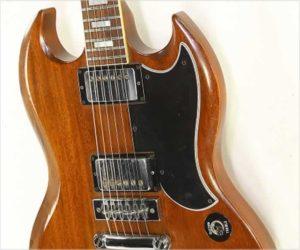 ❌Sold❌ Gibson SG Standard Natural Mahogany,  1977