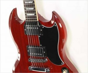Gibson SG Standard 'Les Paul 100' Cherry Red, 2015 - The Twelfth Fret