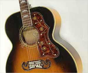 SOLD!!! Gibson SJ-200 Steel String Guitar Sunburst, 1954