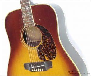 REDUCED!!! Gibson SJ Long Scale Square Shoulder Dreadnought Sunburst, 1968
