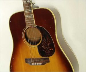 SOLD!  Gibson SJ Square Shoulder Dreadnought Guitar, 1972
