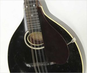 ❌SOLD❌   Gibson Style A Mandolin, Black, 1928