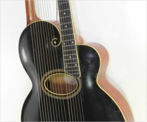 Gibson Style U Harp Guitar, 1914 - The Twelfth Fret