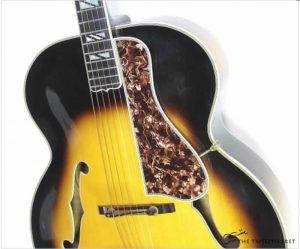 Gibson Super 400 Acoustic Archtop Sunburst, 1937 - The Twelfth Fret
