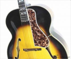 Gibson Super 400 Acoustic Archtop Sunburst, 1937