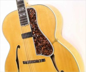 ❌SOLD❌  Gibson Super 400 Archtop Guitar Natural, 1948