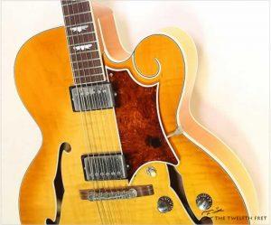 Gibson Tal Farlow Custom Archtop Electric Sunburst, 1998 - The Twelfth Fret