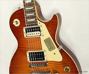 ❌SOLD❌ Gibson True Historic 1959 Les Paul Reissue Aged Vintage Cherry Burst,  2017 (No longer available)