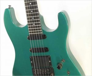 Gibson U2 'SuperStrat' Metallic Green, 1989 - The Twelfth Fret