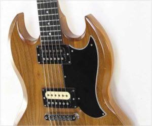 "Gibson ""The SG"" Walnut Solidbody Electric, 1979 - The Twelfth Fret"