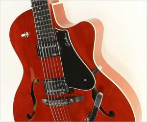 Godin 5th Ave Uptown TR Red GT with Bigsby, 2014 - The Twelfth Fret