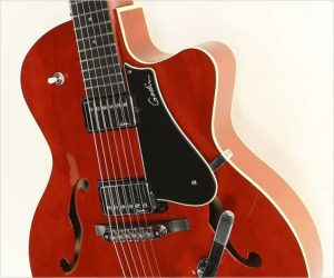 ❌SOLD❌  Godin 5th Ave Uptown TR Red GT with Bigsby, 2014