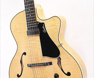 Godin 5th Avenue Jazz Archtop Electric Guitar Natural, 2013