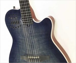 Godin Multiac ACS Denim Blue Flame - The Twelfth Fret