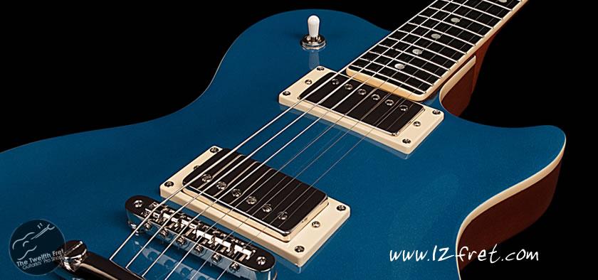 Godin Summit Classic Ltd Desert Blue Cutaway Guitar - the Twelfth Fret
