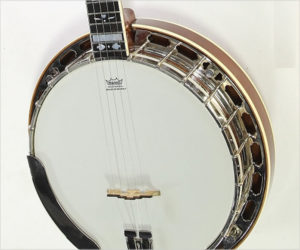Gold Star GF-100HF Hearts and Flowers 5-String Banjo Mahogany, 2006